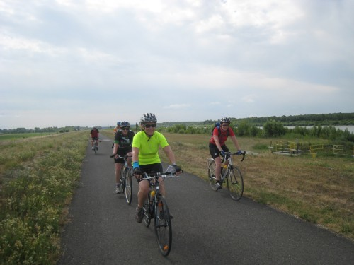 Riding in Slovakia on the Danube Bike Trail (July, 2013)