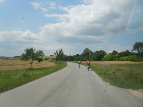Country Road in the Czech Republic (July, 2013)