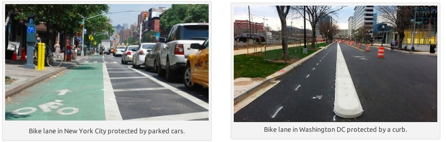 NYC_and_DC_protected_lane