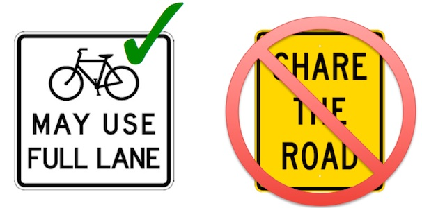 "Large study from North Carolina State University confirms that ""Share The Road"" is a problem."